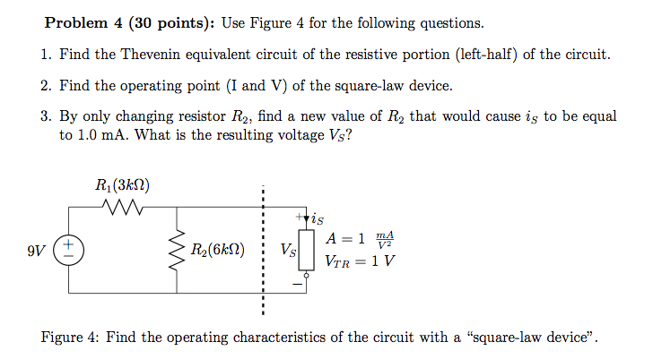 Use Figure 4 for the following questions. Find the