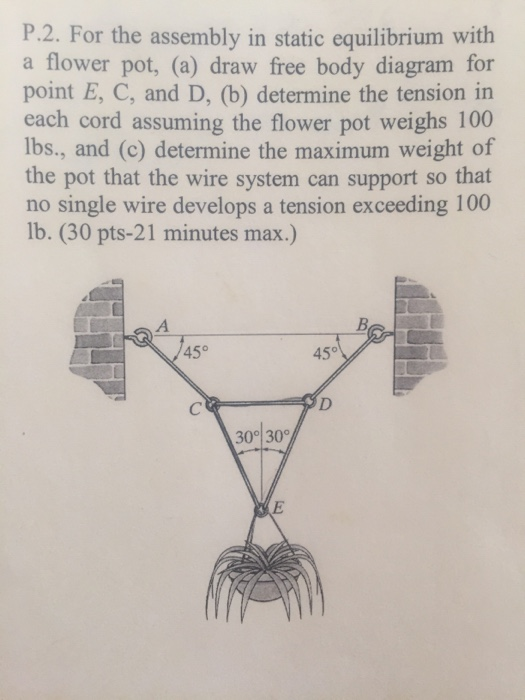 Solved for the assembly in static equilibrium with a flow for the assembly in static equilibrium with a flow ccuart Image collections