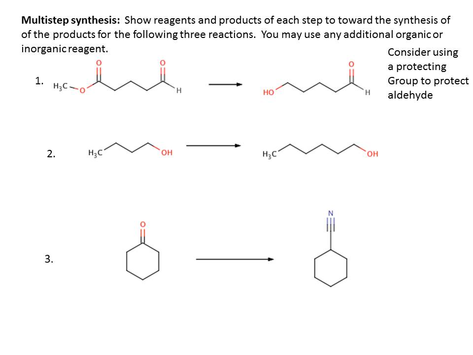 multistep synthesis
