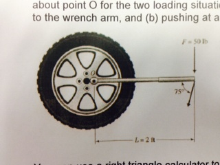 The tire wrench shown in the accompanying figure i