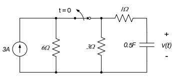 In the circuit shown, the