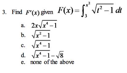 The Graph Of F(x) Is Given Below And F(x)=?x0f(t)d... | Chegg.com