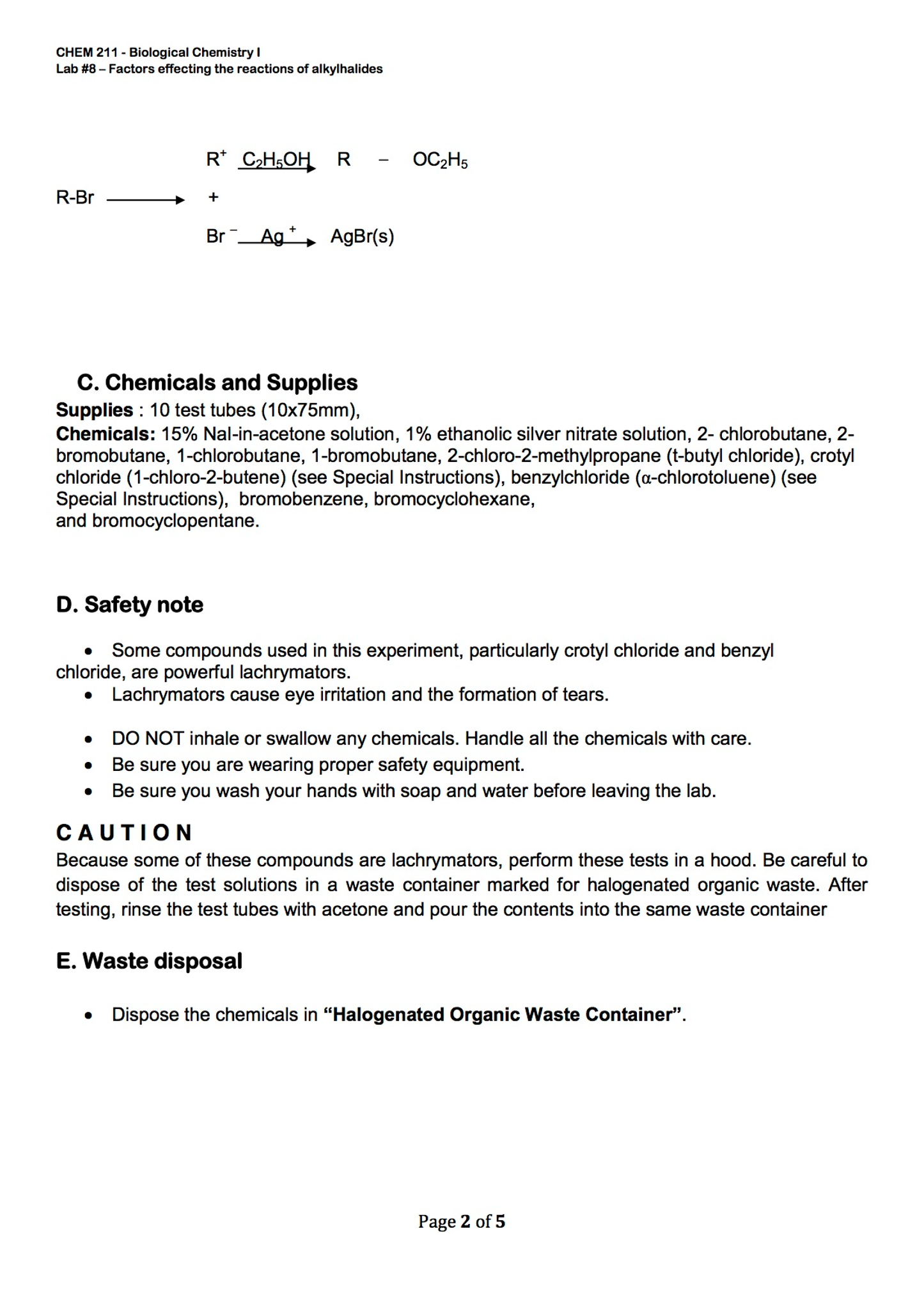 solved questions 1 in the tests with sodium iodide in a