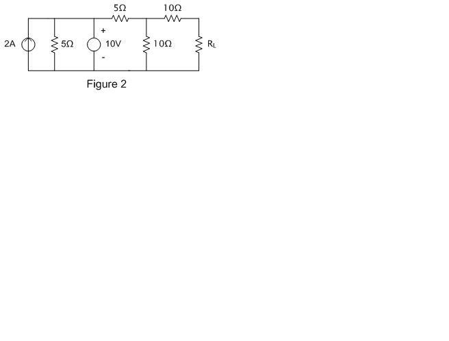 For the circuit shown below (Figure 2) please do t