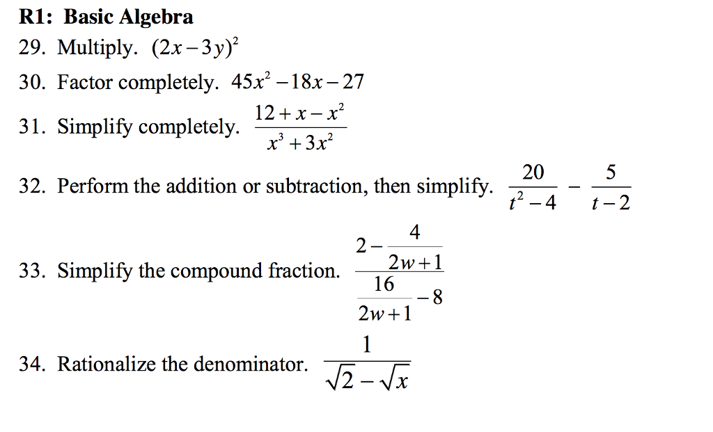 Algebra problems and answers Essay Academic Writing Service ...