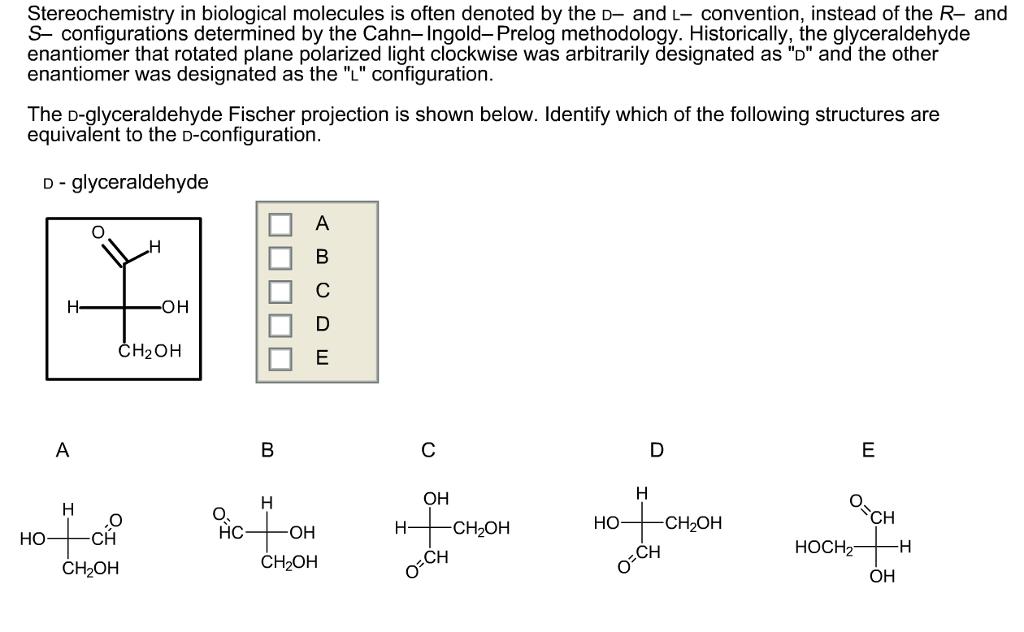 4. Biological molecules - Ms. Calabria Biology IGCSE