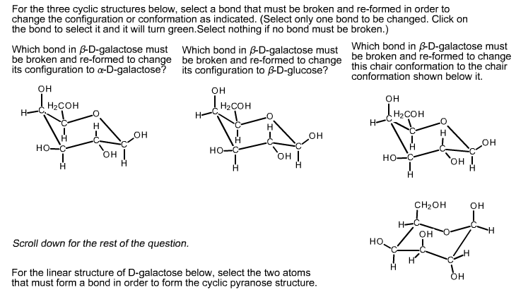 Solved: For The Three Cyclic Structures Below, Select A Bo ... H2coh