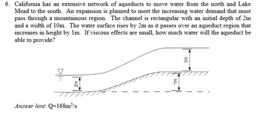 California has an extensive network of aqueducts t