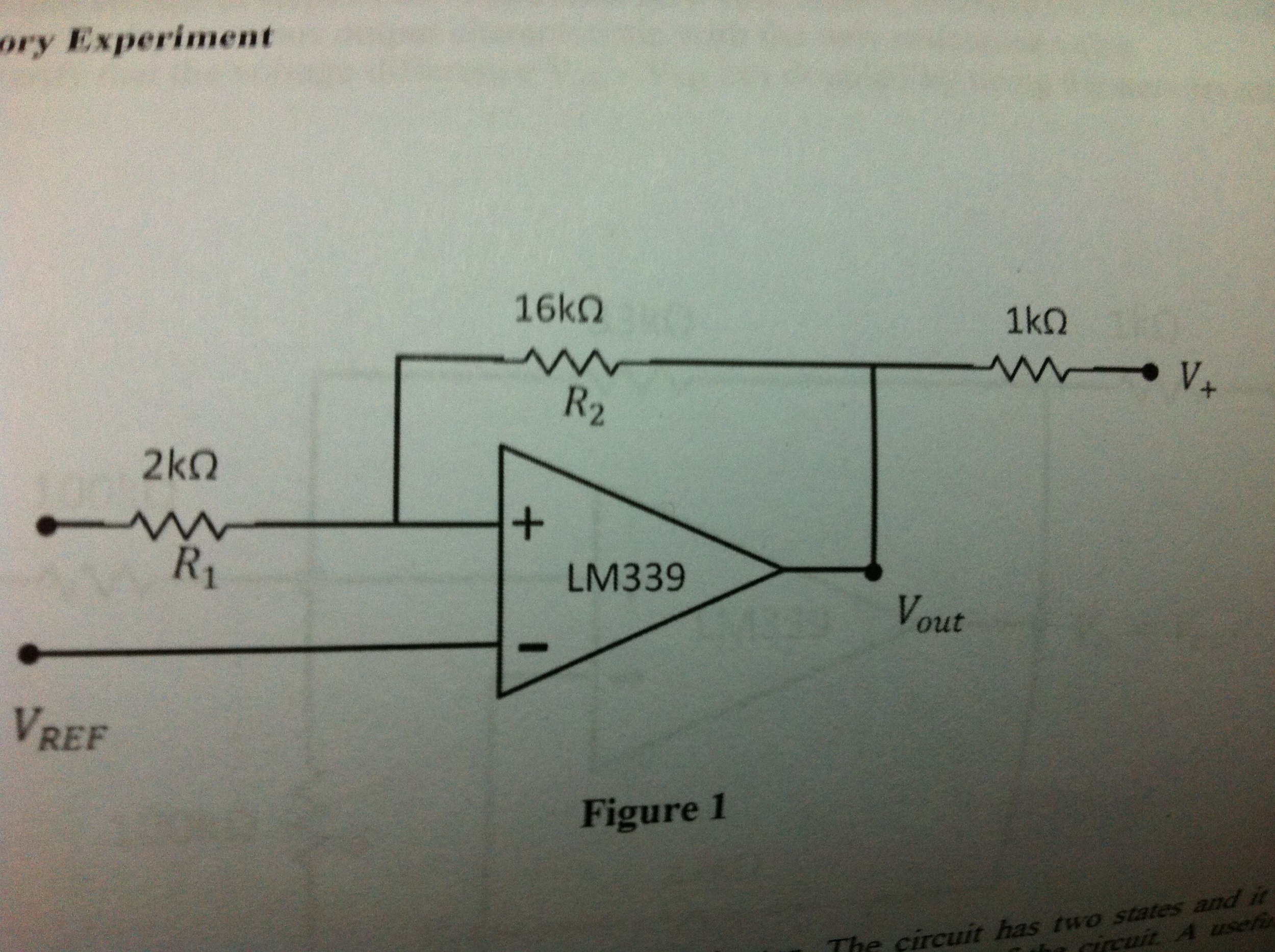 Familiarize yourself with the data sheet of LM 339