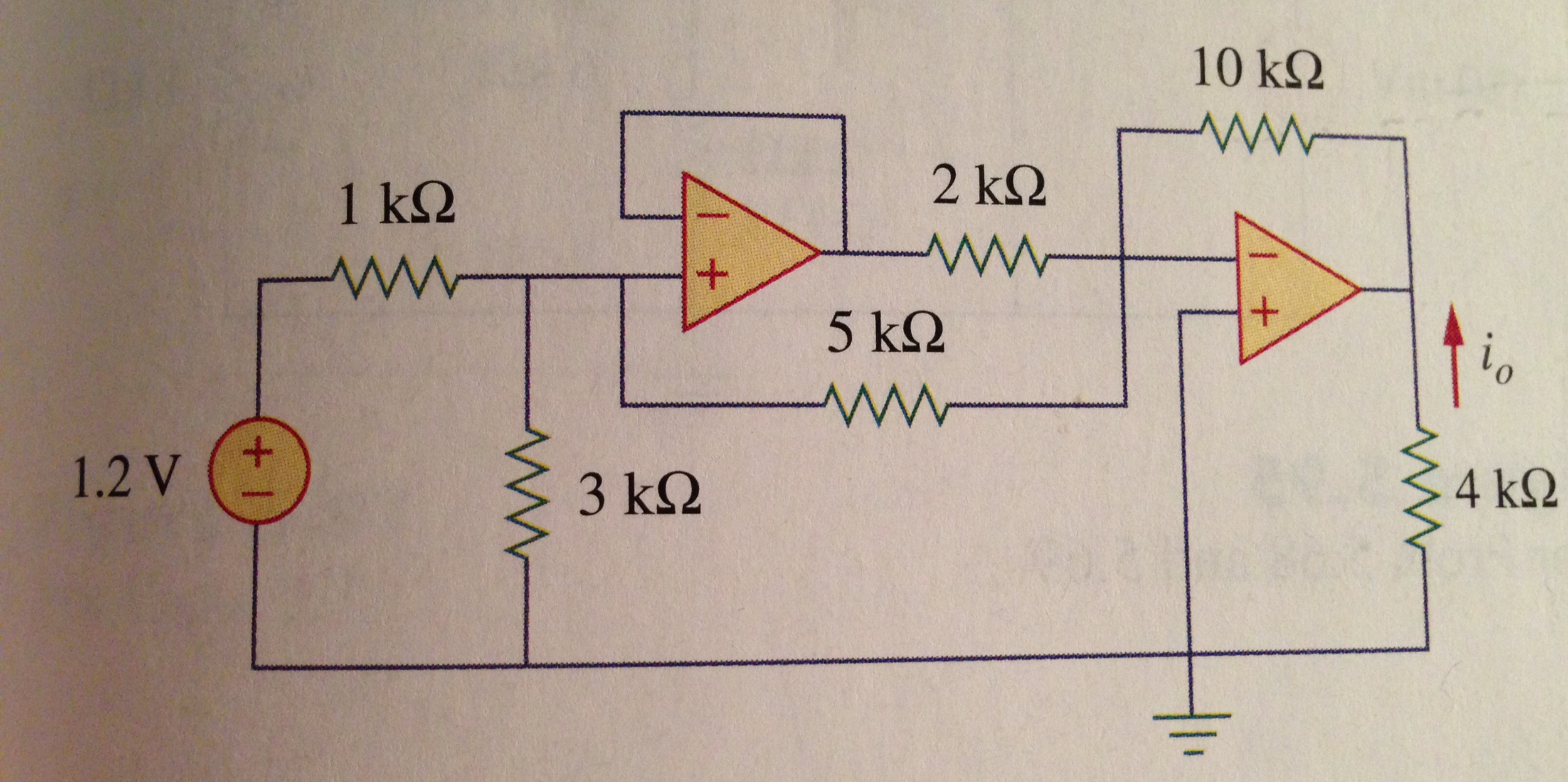 Solve the following Circuit us