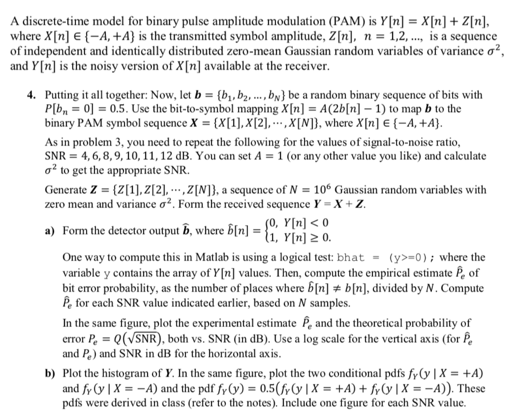 A discrete time model for binary pulse amplitude m chegg a discrete time model for binary pulse amplitude modulation pam is y biocorpaavc Images