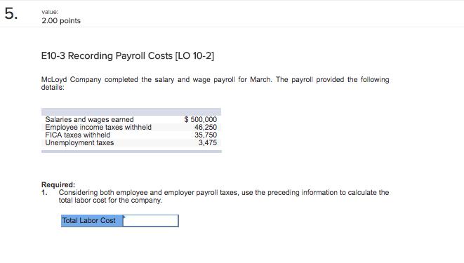 calculate employee payroll