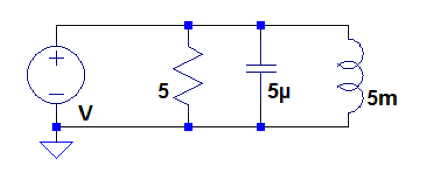 Find the equivalent impedance seen by each voltage