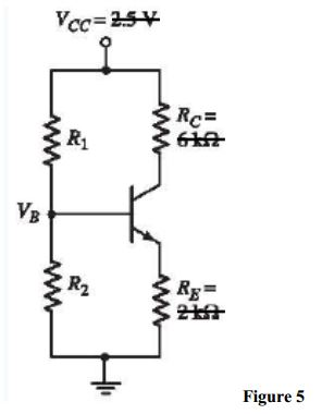 (a) Redesign the circuit shown in Figure 5 using V