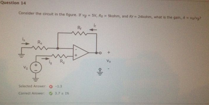 Consider the circuit in the figure If vg = 5v, Rs