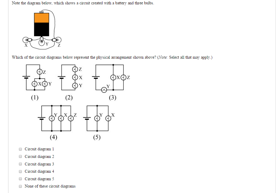 Solved: Note The Diagram Below, Which Shows A Circuit Crea ...