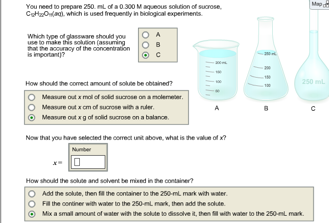 solutions m a questions 250% a solution's mass by mass percent concentration, m/m%, tells you the number of grams of solute present for every 100 g of solution your solution contains.