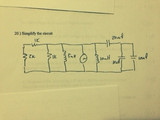 Simplify the circuit