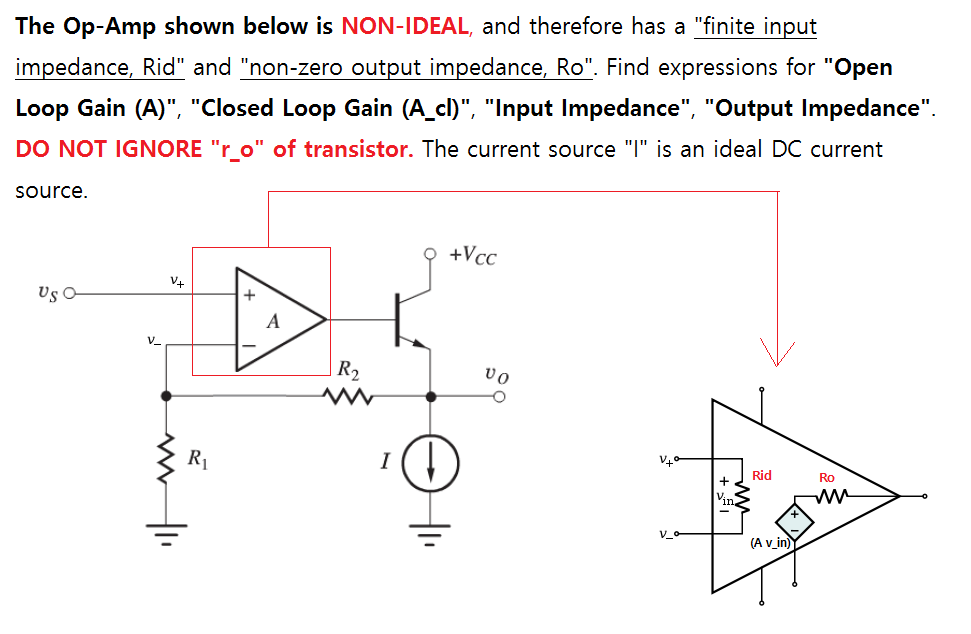 solved  for this circuit with non