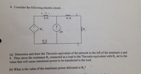 Consider the following electric circuit. Determin