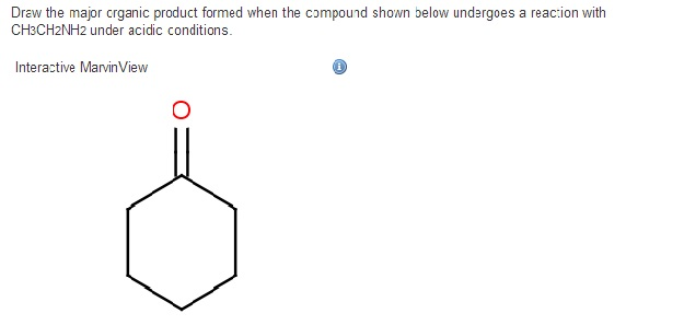 Draw the major organic product formed when the com