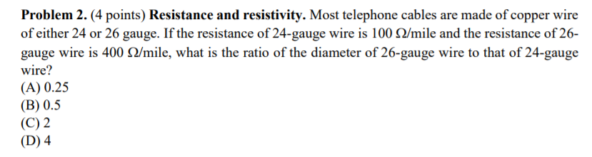 Generous 26 gauge wire diameter pictures inspiration simple wiring solved problem 2 4 points resistance and resistivity greentooth Choice Image