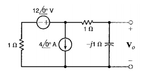 find v0 in the circuit sh