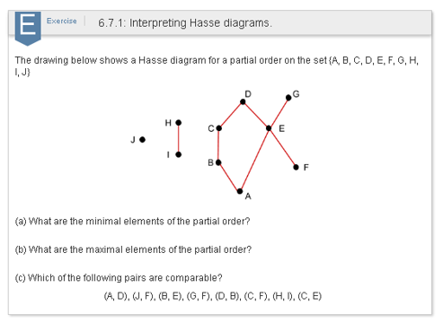The drawing below shows a hasse diagram for a part chegg exercise 67 1 interpreting hasse diagrams the drawing below shows a hasse diagram for a ccuart Image collections