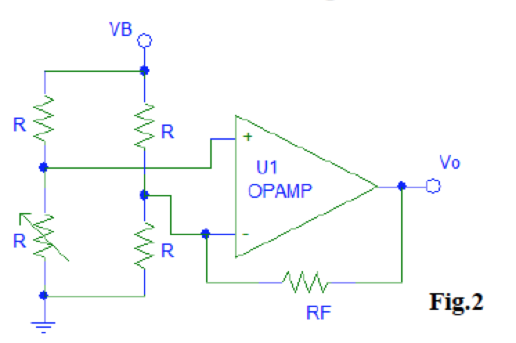 For the bridge opamp circuit of Fig. 3, a. Analyz