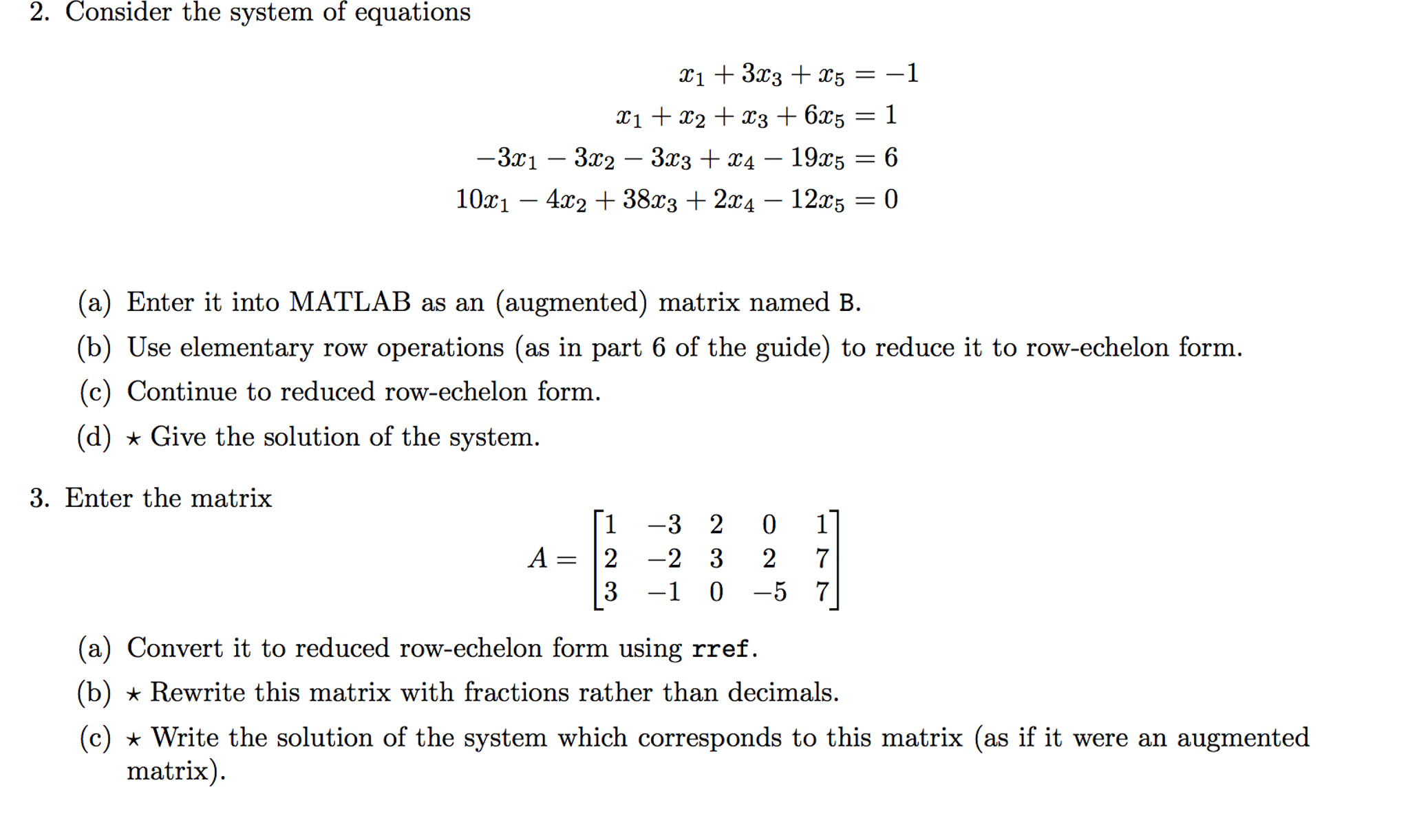 Need Help With This Problem Using On MATLAB Code. ... | Chegg.com