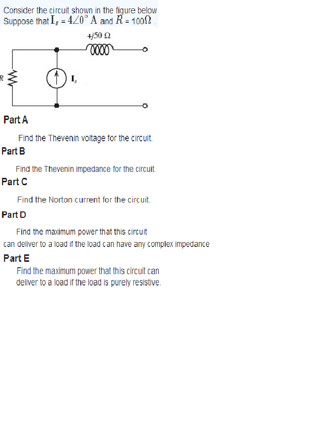Find the Thevenin voltage for the circuit. Find th