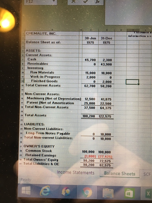 chemalite balance sheet Julia from college listed hi there, would you like to get such a paper how about receiving a customized one check it out.