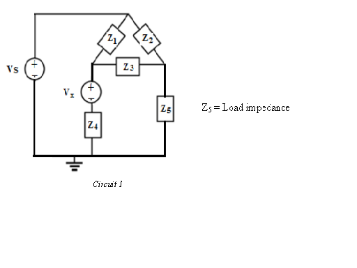 An ac bridge circuit is used in measuring the indu