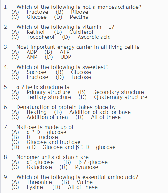 Which of the following is not a monosaccharide? F