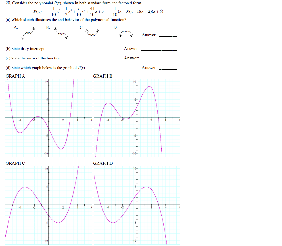 Solved consider the polynomial px shown in both standa consider the polynomial px shown in both standa falaconquin