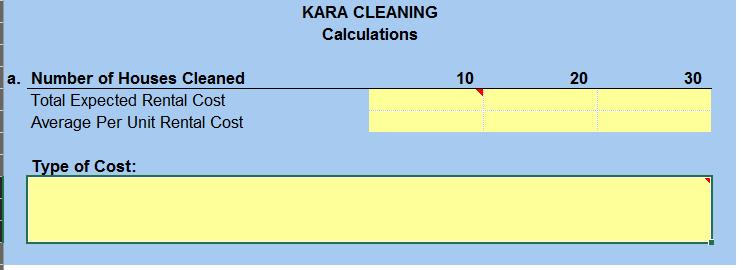 Kara Buchanan Has Decided To Start Kara Cleaning Chegg Com