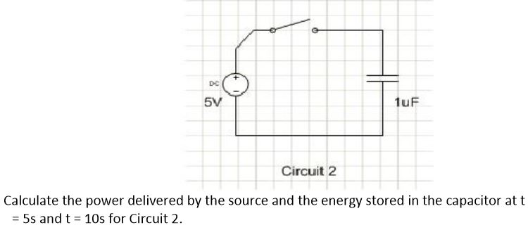 Calculate the power delivered by the source and th