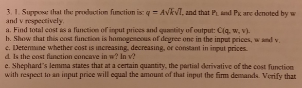 I Have Some Questions I Need Help With Please: I Have Some Qustions About Microecon. I Want Some