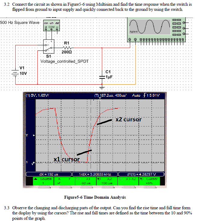 Solved: Connect The Circuit As Shown In Figure5-6 Using Mu ...