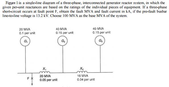 Single Line Diagram Reactor Wiring Source