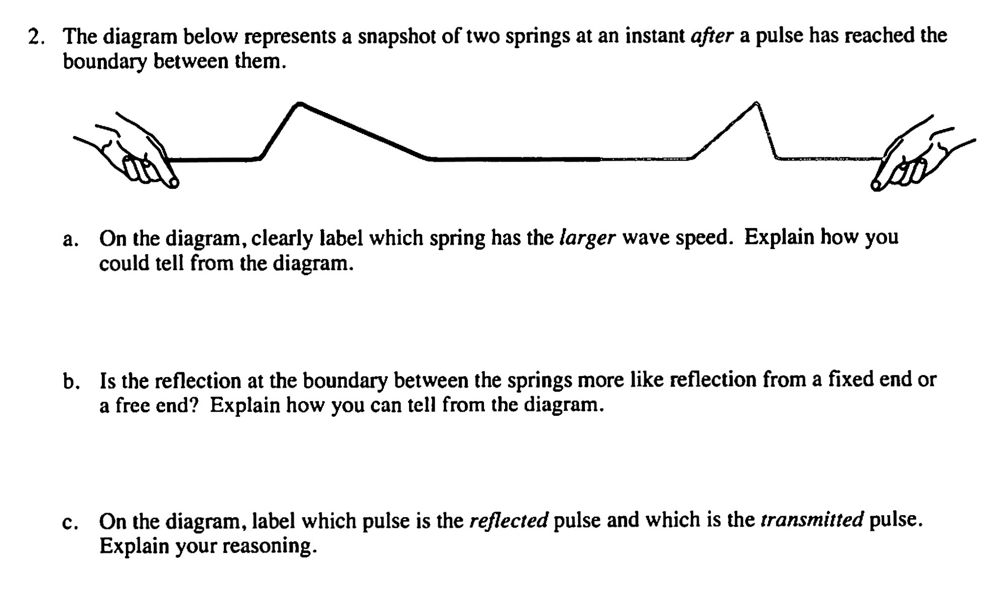 Solved 2 the diagram below represents a snapshot of two the diagram below represents a snapshot of two pooptronica
