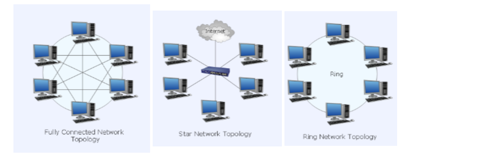 A network topology specifies how computers printe chegg fully connected network topology star network topo sciox Image collections