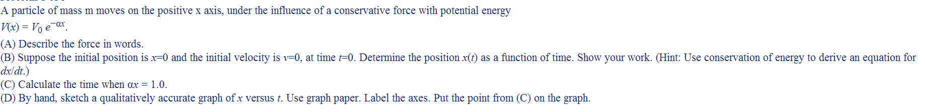 Is the force just the integration of V(x) ?If not