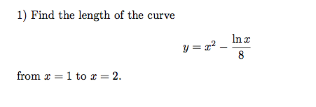 how to find minimum curve length
