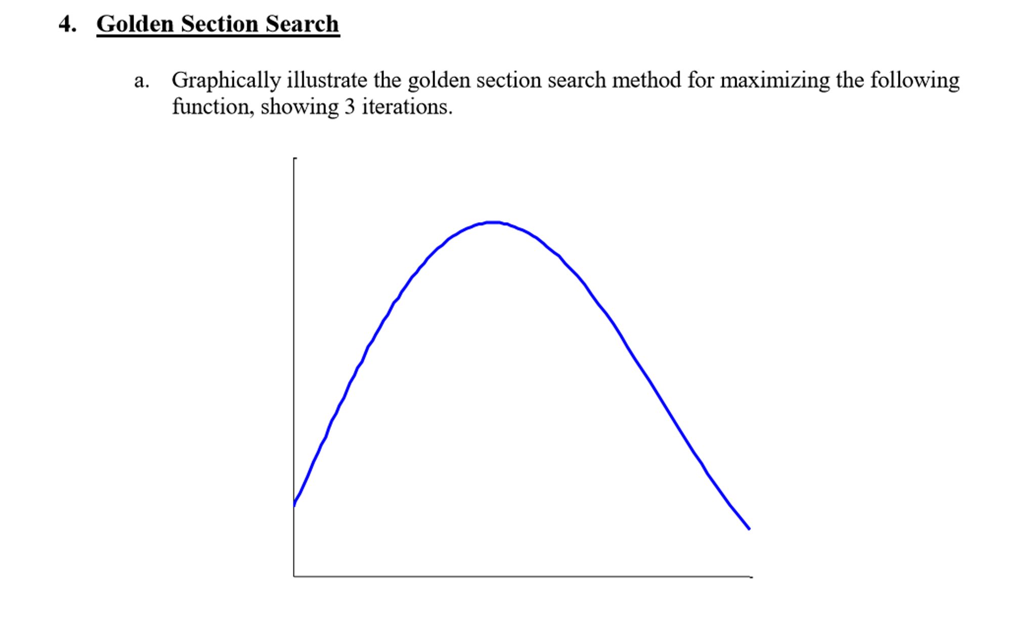 Graphically Illustrate The Golden Section Search M