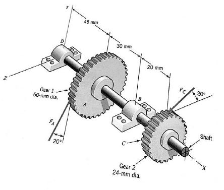 Gear Shaft Assembly This Shaft Gear Assembly