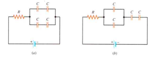 Solved: The Figure Shows Two Different Circuit Arrangement ...