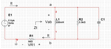 Determine ZT (in polar form) Determine the valu