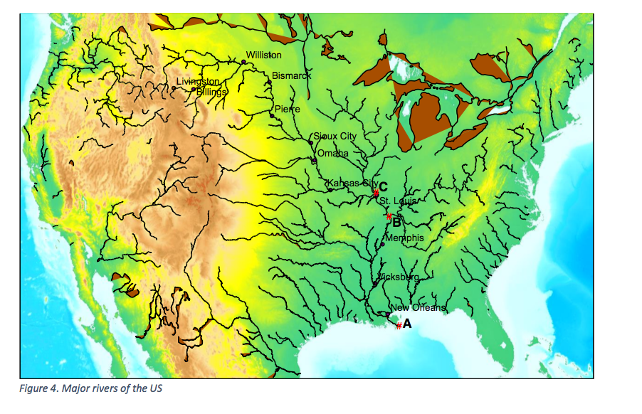 River Drainage Basins River Systems Are Composed O Cheggcom - Us drainage basins map