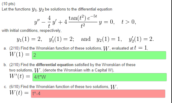 how to find k in a differential equation